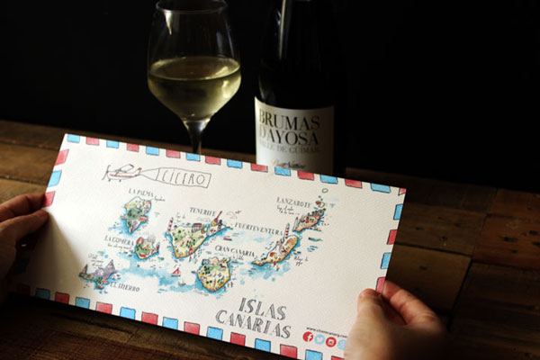 illustrated-menu-map-canary-islands