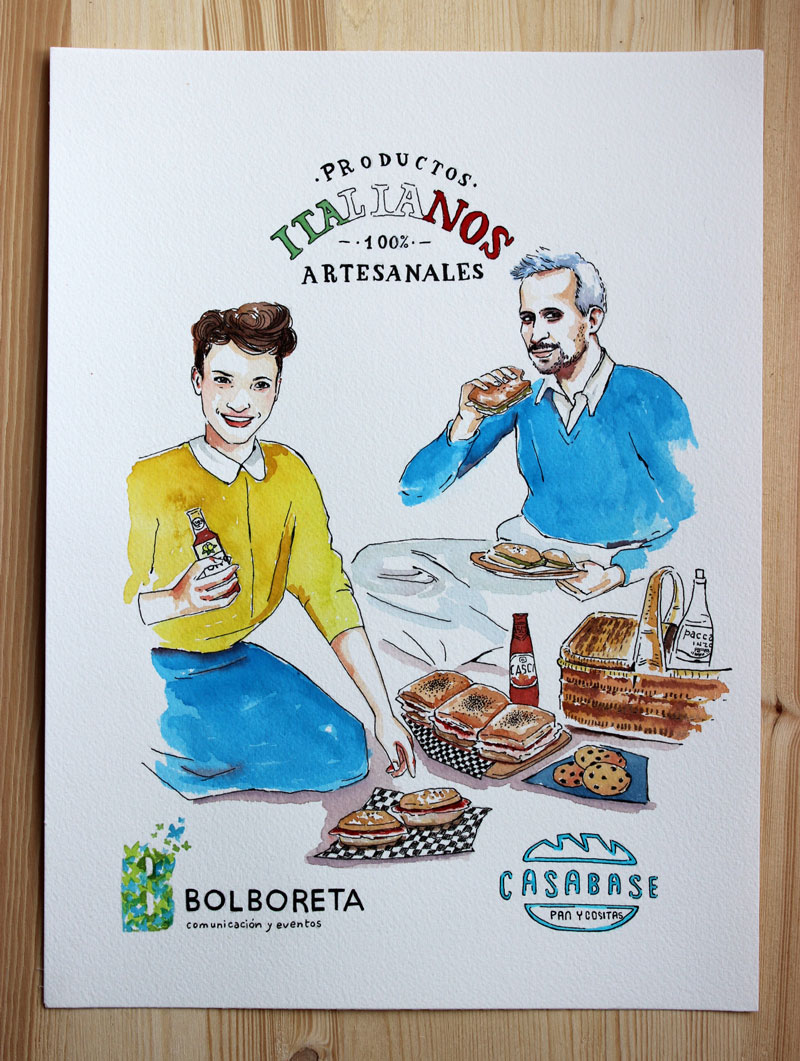 illustration-portrait-casabase-italian-food