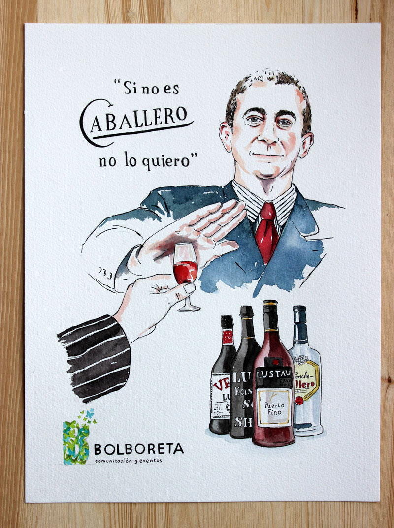 illustration-portrait-grupo-caballero-drink