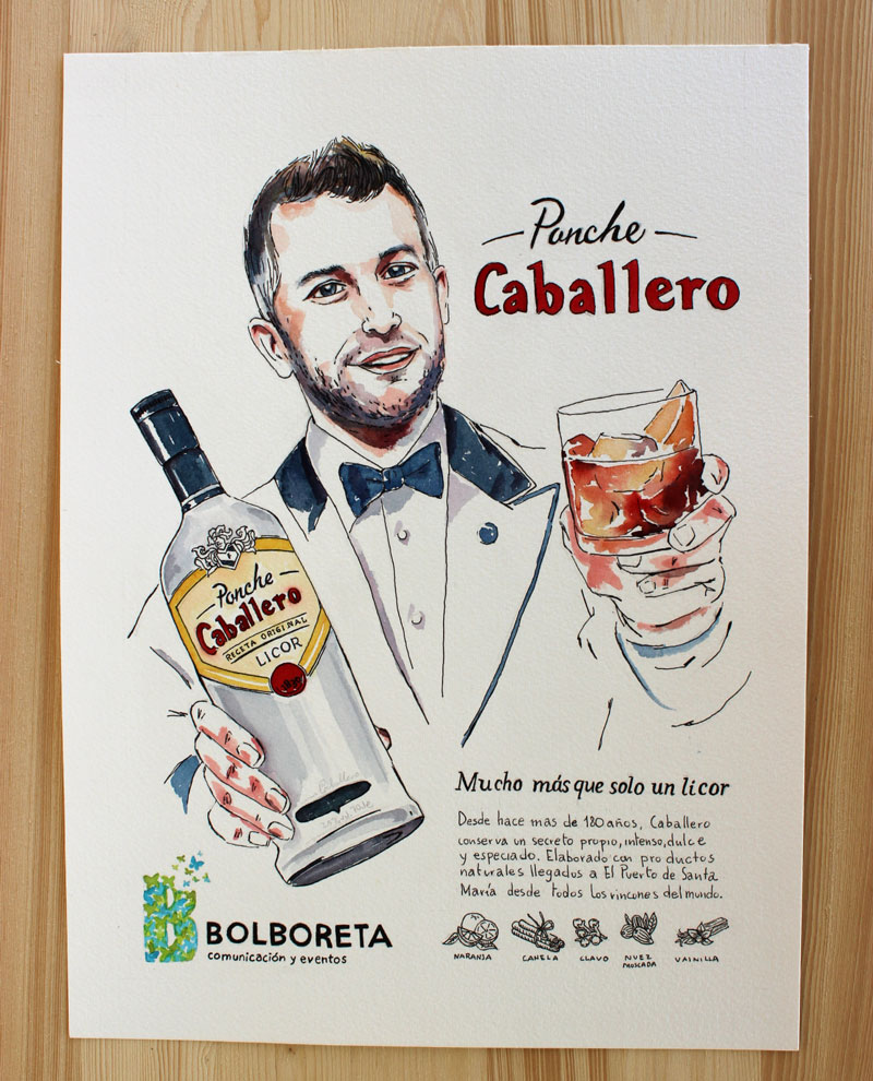 illustration-portrait-ponche-caballero-drink