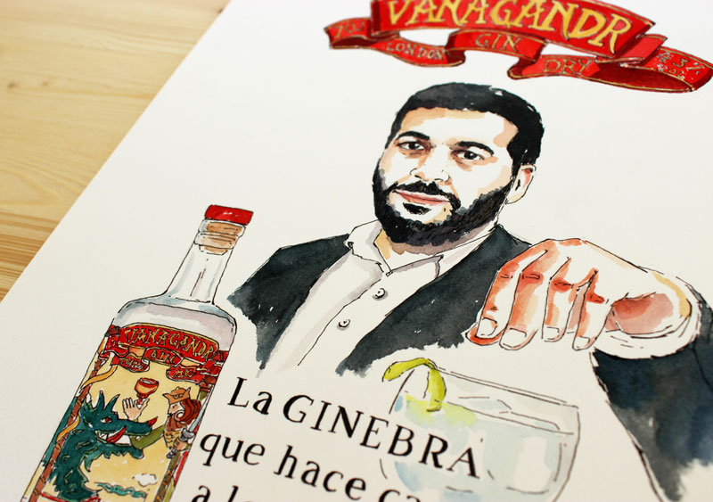 illustration-portrait-vanagandr-gin-drink