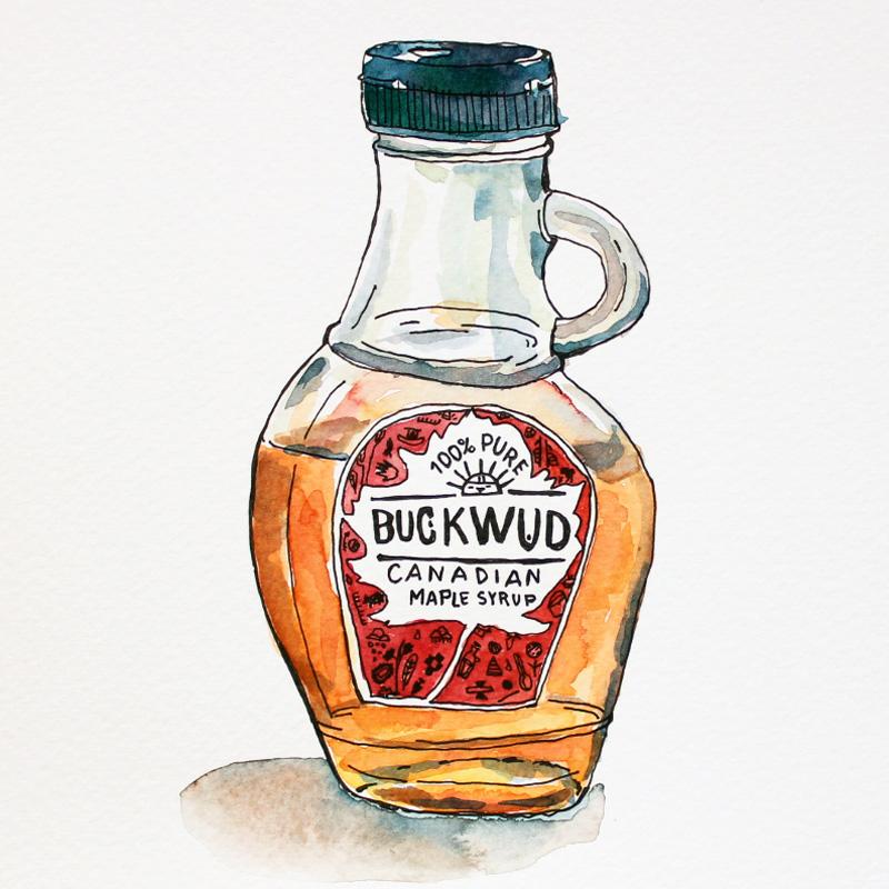 inktober-detalle-illustration-packaging-buckwud-maple-syrup
