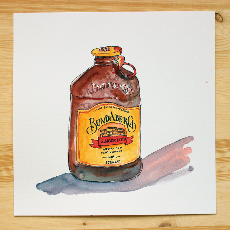 inktober-packaging-bundaberg-ginger-ale